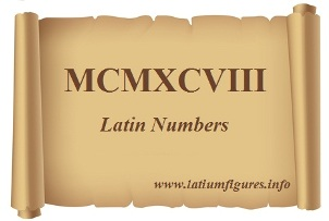 Latin Number system & Roman Numerals